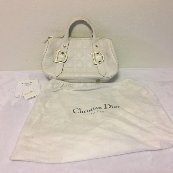 Dior Handbags - Authentic Christian Dior Leather Purse Handbag